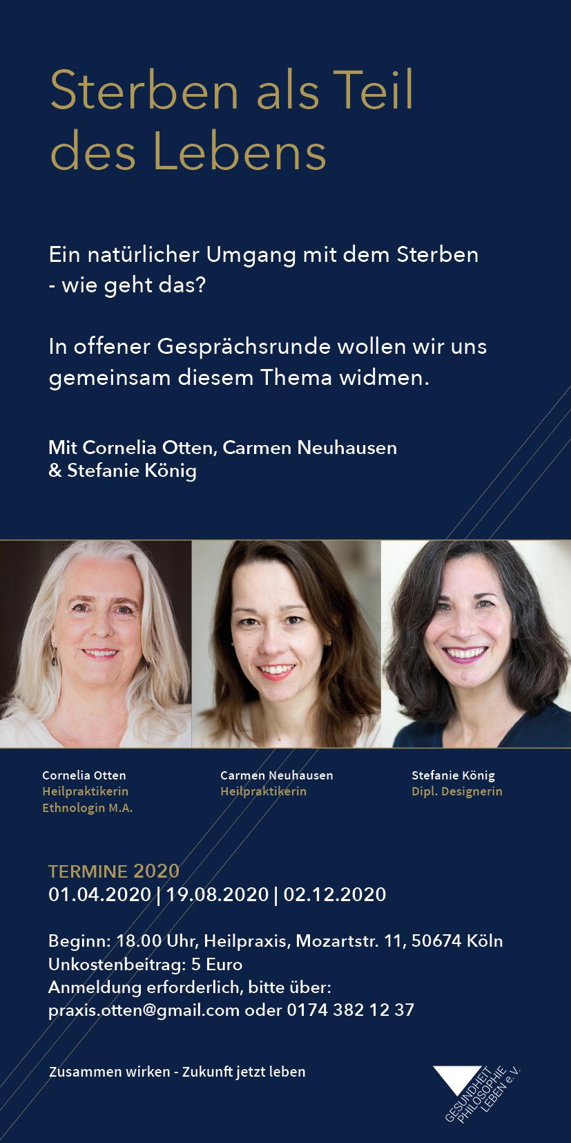 Offener Abend: Sterben als Teil des Lebens @ Heilpraxis Koeln | Köln | Nordrhein-Westfalen | Deutschland